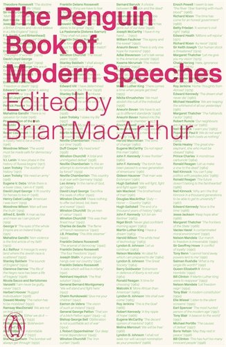 The Penguin Book of Modern Speeches / Edited by Brian MacArthur