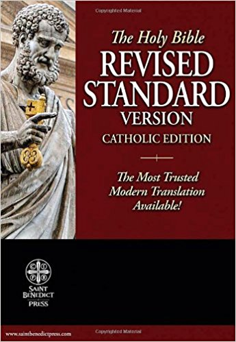 The Holy Bible: Revised Standard Version Catholic Ediction