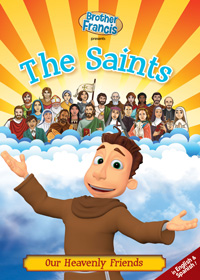 DVD: Brother Francis: The Saints: Our Heavenly Friends